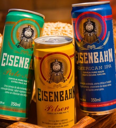 Eisenbahn lança American IPA e Pale Ale em latas