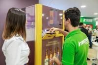Cervejaria Ambev investe R$ 1,5 milhão para facilitar troca de garrafas retornáveis