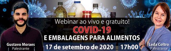 Webinar Covid-19 e Embalagens para Alimentos